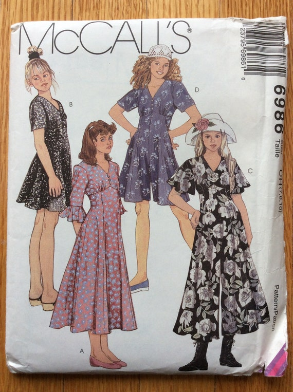 McCall/'s 6986 Misses/' Dresses   Sewing Pattern