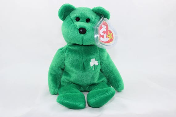 Ty Erin the Bear Beanie Baby St. Patrick s Day Bear  37207459dc9