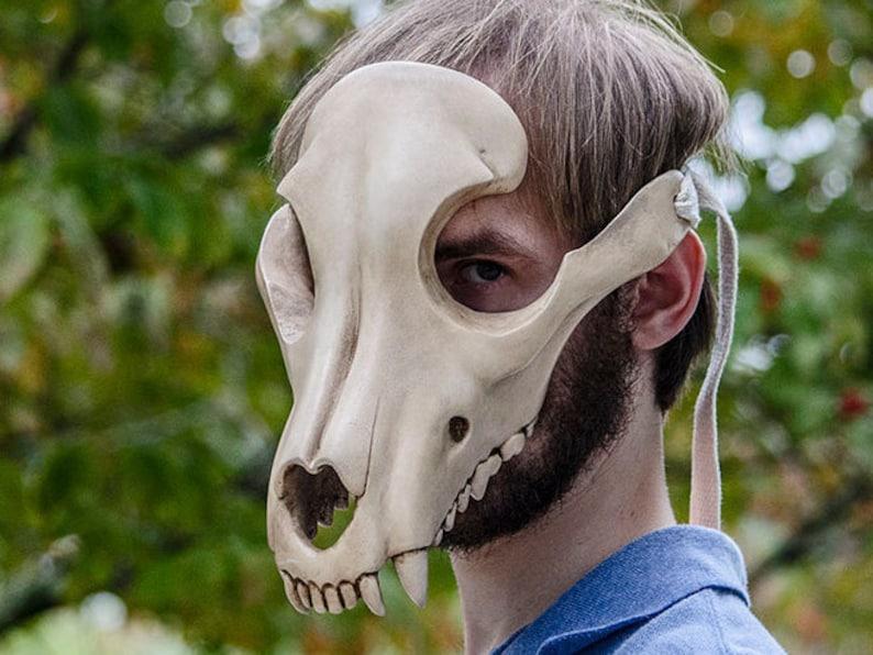 Canine Skull Mask image 0