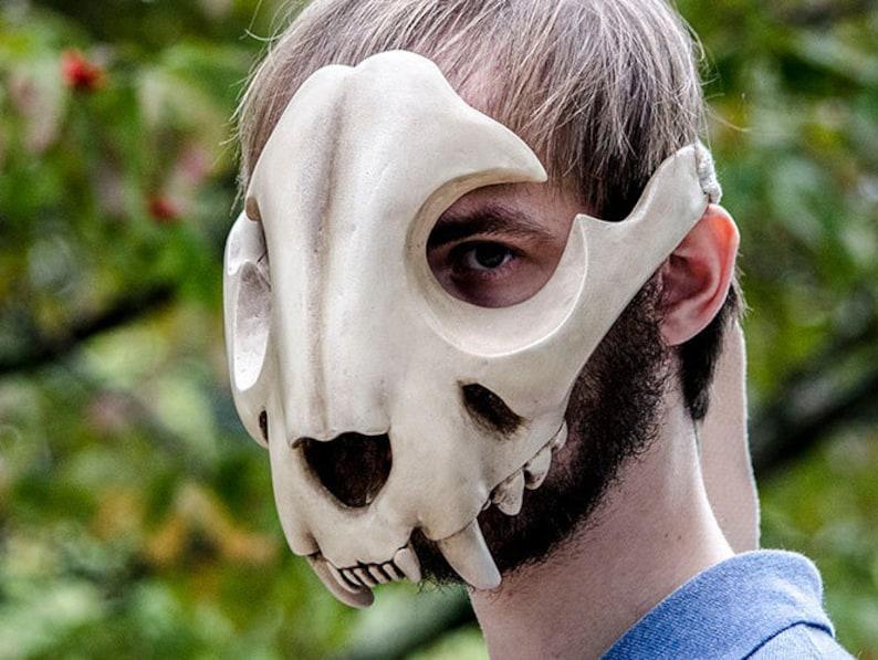 Feline Skull Mask image 0