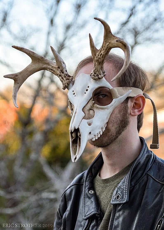 Cervine Skull Mask image 0