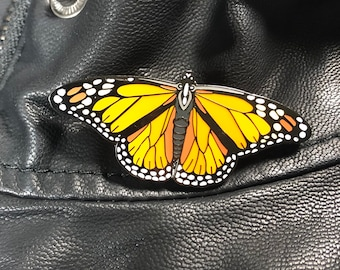 Monarch Enamel Pin