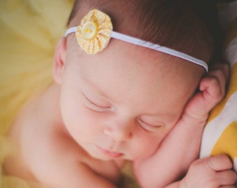 READY TO SHIP - newborn, yo-yo, headband