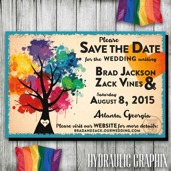 Gay wedding save