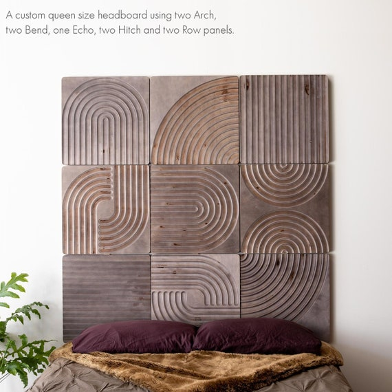KARVD Hitch Wood Carved Wall Panel Modular Wall Art 3D   Etsy