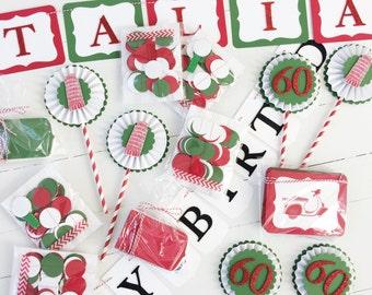 Italian Party Themed Bundle   Italian Wedding   Italian Bridal Shower   Italian Birthday Party   That's Amore Banner