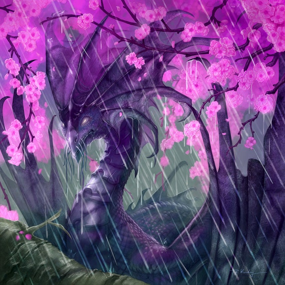 Cherry Blossom Fantasy Art