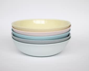 dipping bowl - porcelain (citrus colour)