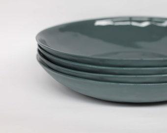 organic pasta bowl - porcelain (slate colour)