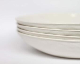 organic pasta bowl - porcelain (milk colour)