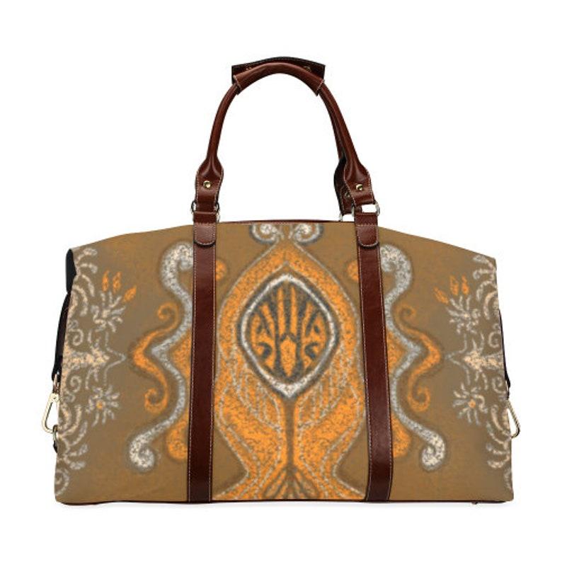 Men or Women-week-end bags waterproof handpainted design Classic travel bag-Child custom-luggage-zippered-large-usefull-original bag