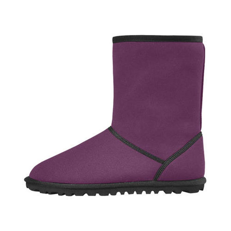 winter boots high top unisex snow boots-adult and child-custom possible-many colors-faux furs color and sizes assorted-fall and winter