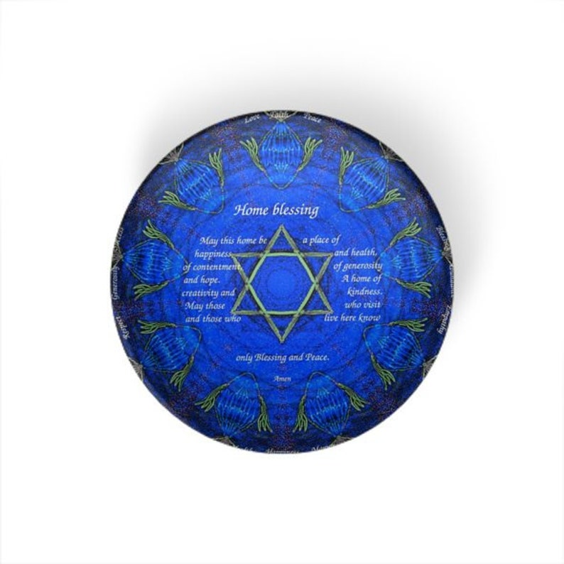 Home blessing Decorative resin bowls-artistic hand painted design assorted dishes