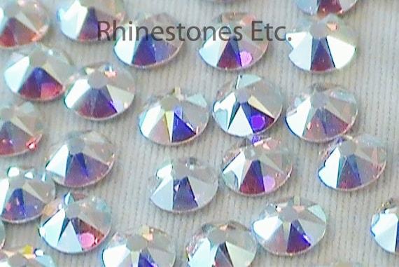 688ef2a9c648 Crystal AB 16ss Swarovski Elements Rhinestones Flat Back 36