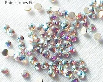 Crystal AB 6ss Swarovski Elements Rhinestones 2058 Flat Back 1 gross