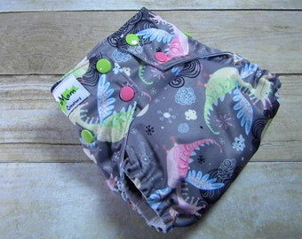 Fairy Dragons OS Ai2 w/ Bamboo Insert Cloth Diaper All in Two