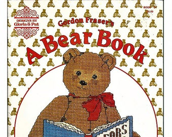 Gordon Fraser's A Bear Book Designs in Counted Cross Stitch Pattern Book 31