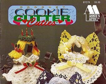 Cookie Cutter Cuties Crochet Pattern Book-  Annies Attic 87C79