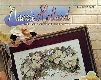 Art For Counted Cross Stitch By Nancie Holland Cross Stitch Pattern Item # 2297