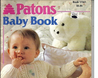 Patons Baby Book Knitting Pattern Book 17341