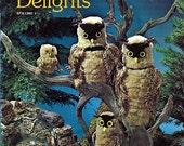 Nature's Delights Volume I Macrame Pattern Book