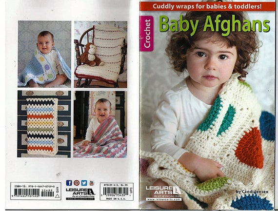 Baby-Afghanen zu häkeln Muster Buch Freizeit Kunst Bücher | Etsy