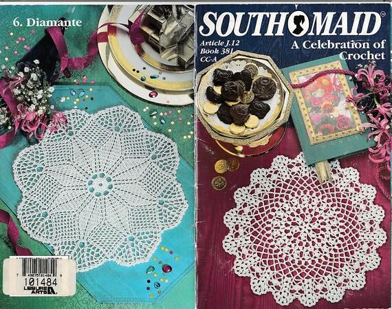 A Celebration Of Crochet Pattern Book Coats Clark 381 Etsy