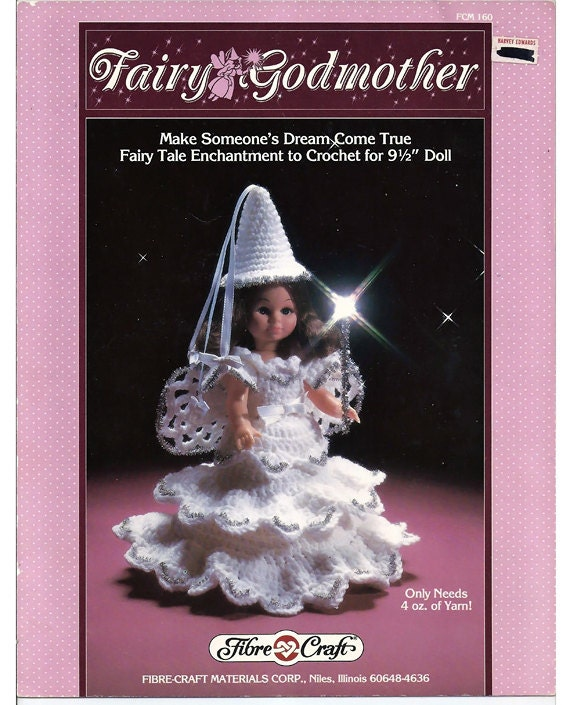 Fairy Godmother Crochet Doll Pattern Fibre Craft Fcm 160 From