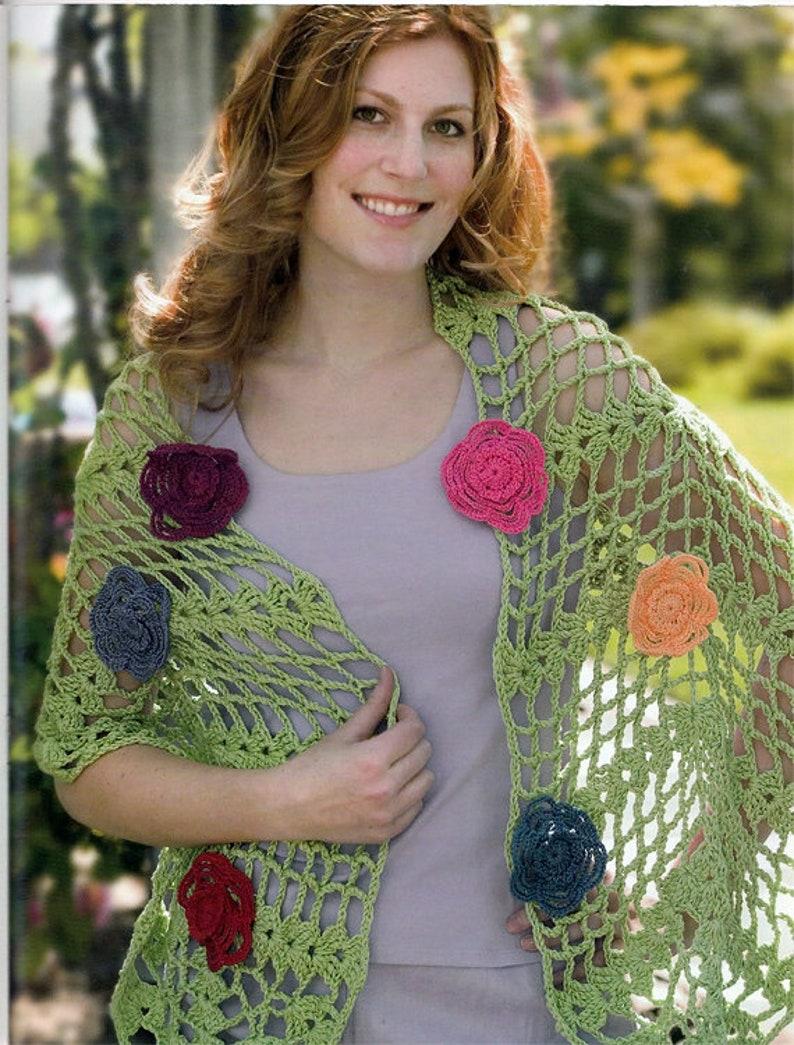 Crochet In Bloom Crochet Patterns Book Leisure Arts 3992