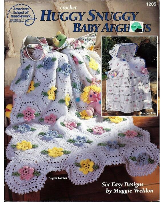 Huggy lodert Baby Afghanen Muster häkeln Buch amerikanische | Etsy