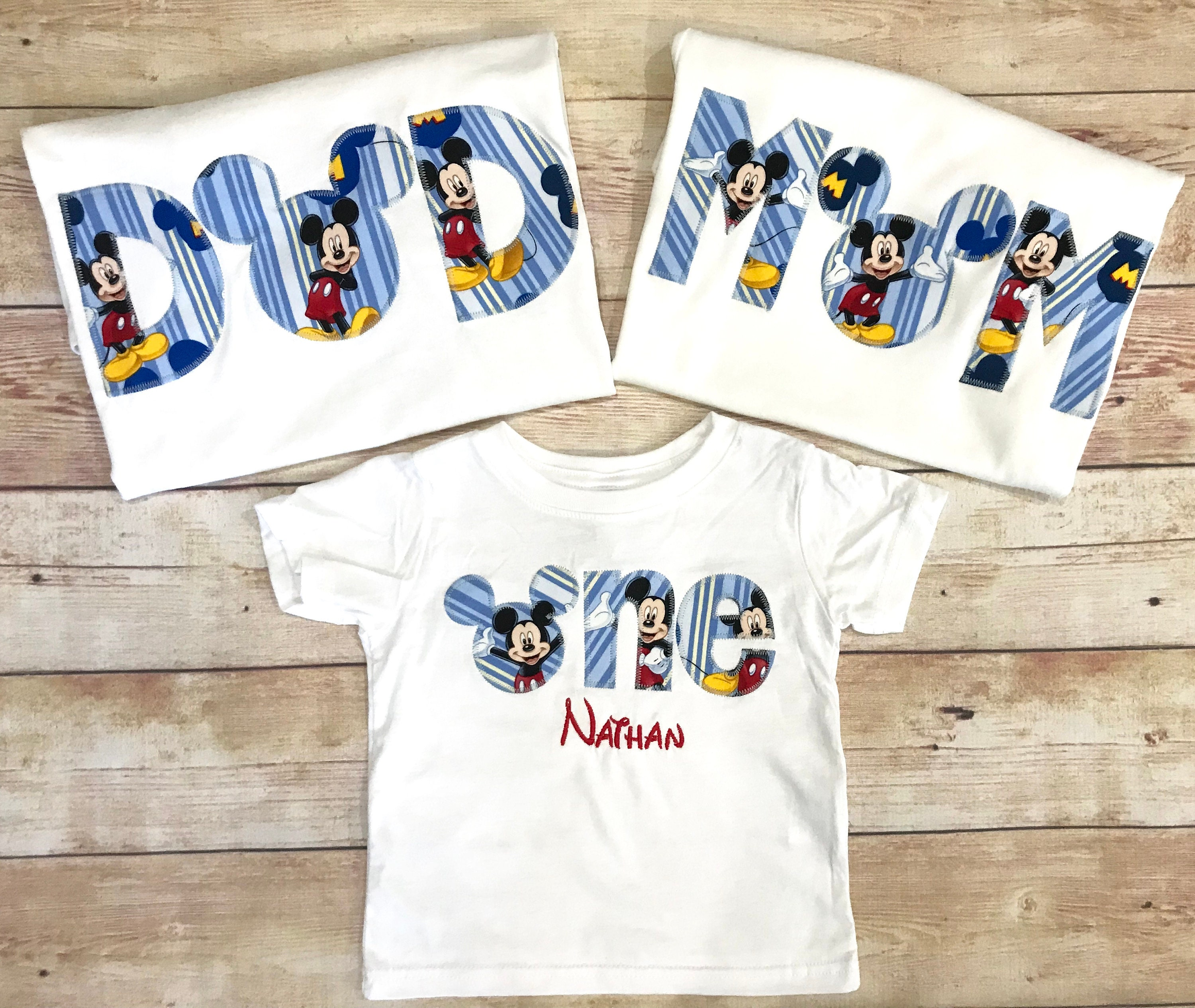 a741af1a Disney Family Birthday Shirts Mickey Mouse Minnie Mouse Family | Etsy