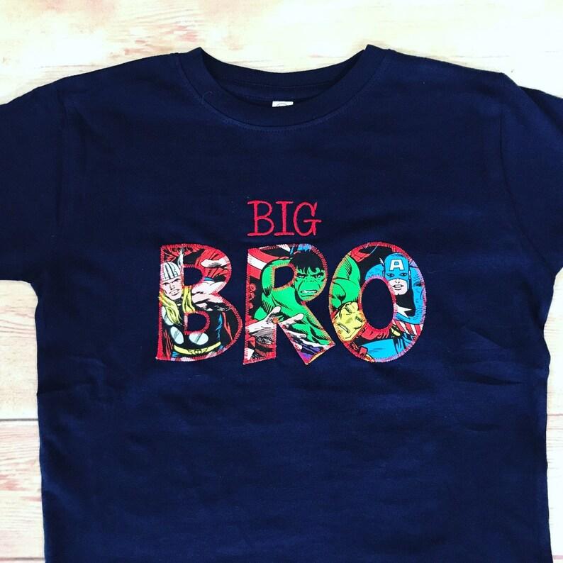 2d1635bc8e2db Big Brother Superhero Shirt Pregnancy Annoucement Big Brother | Etsy