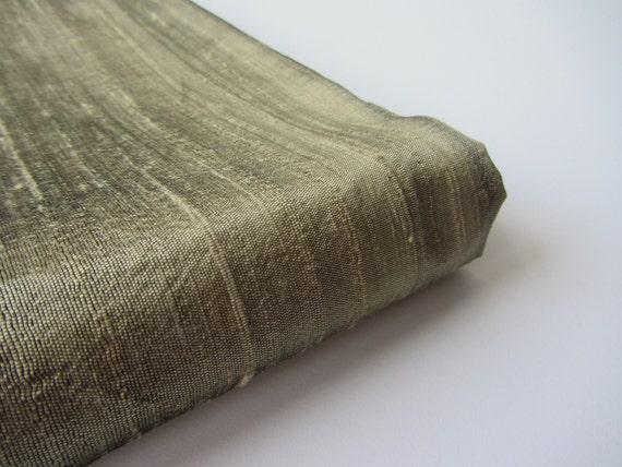 ruwe zijde stof