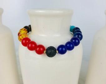 Chakra Beaded Bracelets