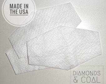 Filter Inserts - Reusable Filters - MERV 16 Rated - MADE in USA - Fast Shipping - Filters for face mask