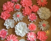 Paper flower wall, nursery decoration, wedding arbor decor, table scape flowers, party decoration, flower photo wall, giant flowers, wedding