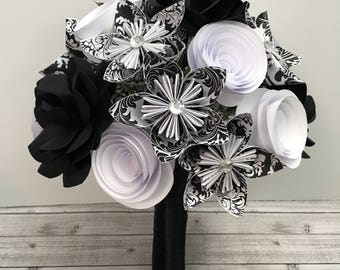 handmade paper flowers by mywoollymammoth on etsy