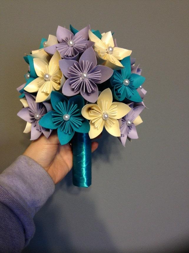 Kusudama paper flower bouquet wedding flowers home decor etsy image 0 mightylinksfo