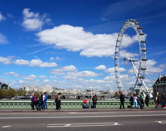 London Photography - Westminster, London, England Travel Photo, Large Wall Art, Home Decor, Gallery Wall