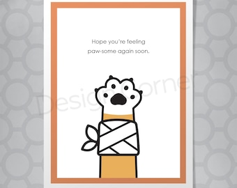 Sorry You Feel Like Poop Card Funny Get Well Card for Him Card for Her Motivation Cancer Humor Card Support Card for Dad Encouragement Card