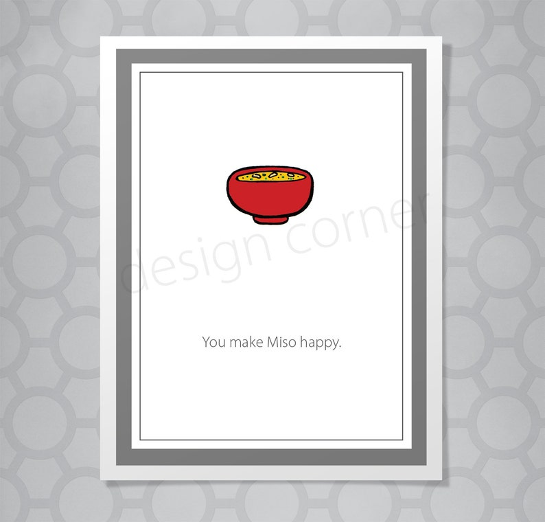 a894ca4059d Miso Soup Valentine s Day or Love Pun Funny Illustrated