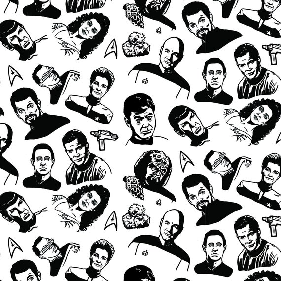 7 STYLES * Birthday Party Present Child Exclusive Star Trek Wrapping Paper