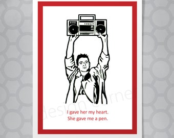 Say Anything All Occasion Funny Illustrated Card