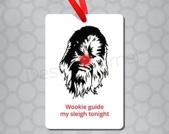 Chewbacca Star Wars Magnet & Ornament