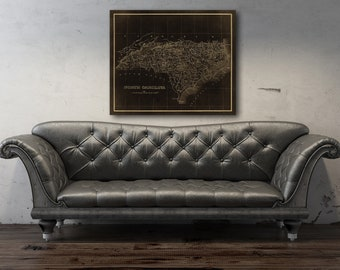 1800 Us Map Etsy