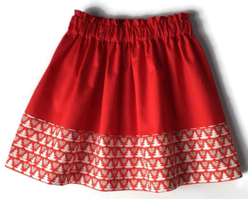 a8edb324a Toddler Skirt Christmas Skirt Christmas Outfits Girls