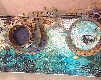 3-D Steampunk Eyewear