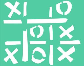 X & O's
