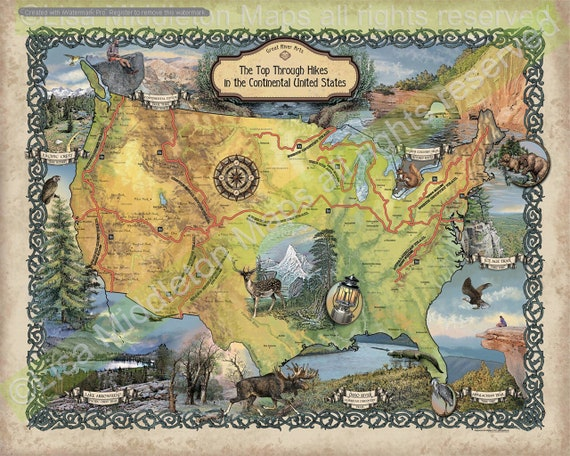 Hiker gift, hiking map, hiking maps, maps hiking, hiking gift, Appalachian on orienteering map, hiking tours, hiking trail, following a map, trail map, hunting map, space exploration map, hiking tracks, nature map, places to go map, hiking tips,