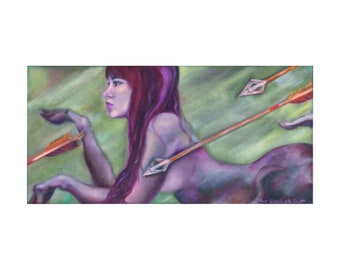 Giclée Print | Hunted Deer | Limited-edition | Signed Original Fine Art | Wall Décor